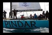 Яхта Pindar пересекла Бискайский залив.