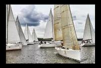 Открытый Чемпионат Москвы на крейсерских яхтах 2013.