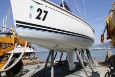 Подготовка яхты к сезону в Турции апрель 2013