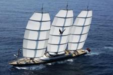 Мега яхта Мальтийский сокол