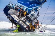Team Vestas: авария в Индийском океане