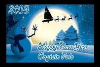 От всего сердца поздравляем Вас с Новым годом и Рождеством!