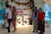 Антон Моисеев, Ева, Сергей и Ирина Моисеевы