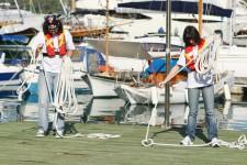 Тренировка перед выходом в море