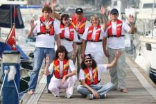 Экипаж яхты