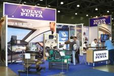 Стенд компании Volvo Penta