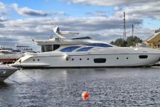 Яхта Azimut 100 футов