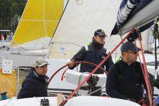Капитан гоночной парусной яхты